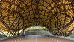 Kura Kura Badminton Courts / IBUKU + Studio Jencquel