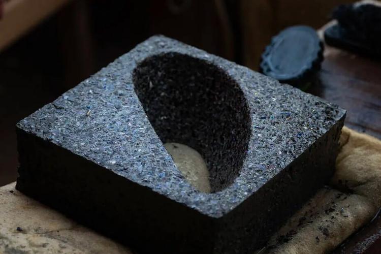 Projeto baseado em economia circular transforma cascas de sururu em cobogó em Alagoas, Foto: Via @mrosenbaum