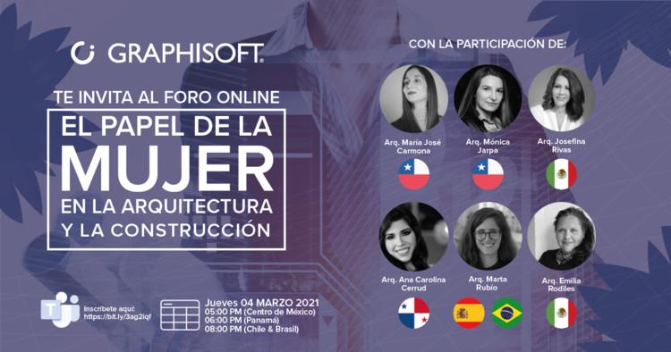 Foro Online: El papel de la Mujer en la Arquitectura y la Construcción , Foro Online Día de la Mujer por GRAPHISOFT