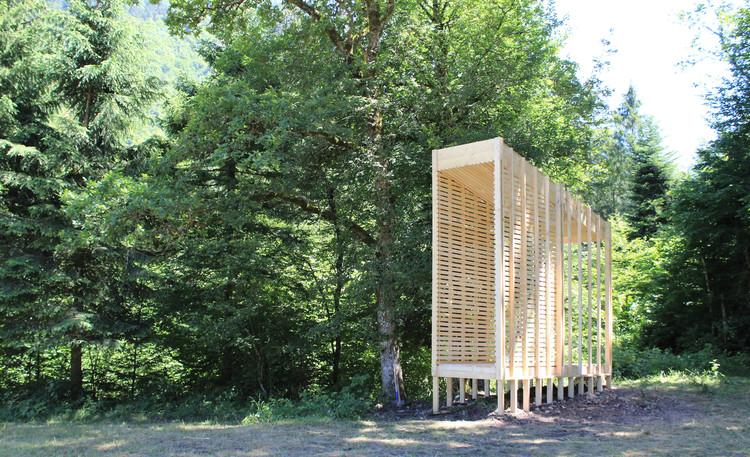 Le Gardien Pavilion / Collectif REV.L, © Nicolas Delucinge