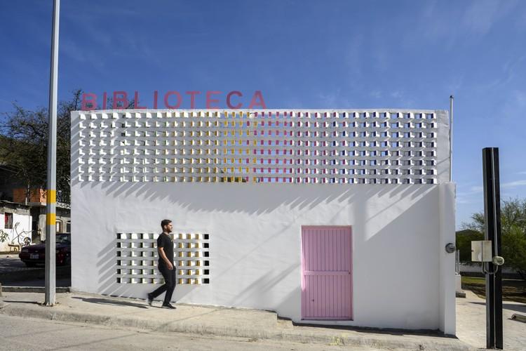 Biblioteca Colonia Héctor Caballero / Proyecto Reacciona A.C, © Hector Padilla Ferraris