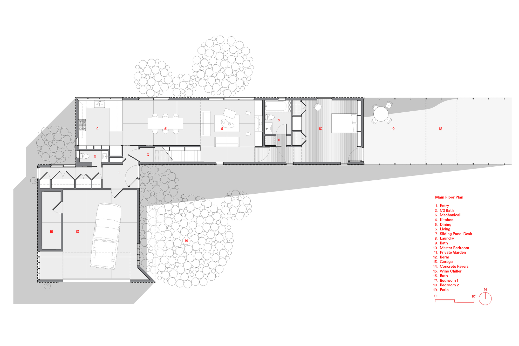 Gallery Of Wanaka Wedge House Actual Architecture 37