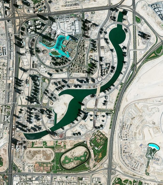 Dubai United Arab Emirates.  Created by @dailyoverview