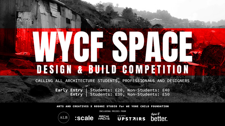 Open Call: WYCF Space: Design and Build Competition, WYCF Space: Design and Build Competition Poster
