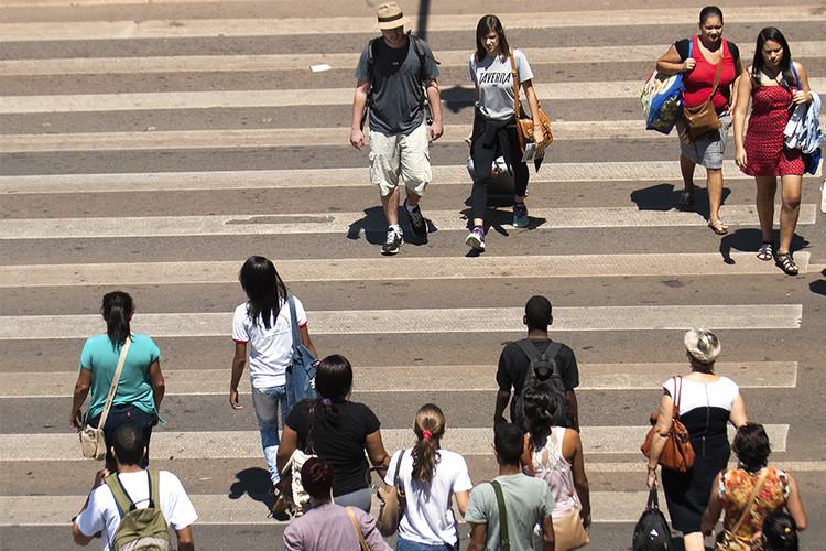 O cenário da pandemia pode gerar cidades caminháveis?, Imagem: Marcello Casal Jr/Agência Brasil