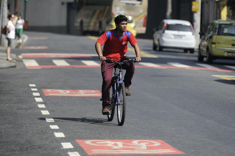 O que é preciso para viabilizar a bicicleta como opção de mobilidade nas cidades brasileiras?, Novo trecho da ciclovia Cosme Velho-Laranjeiras, Rio de Janeiro. Foto: Tânia Rêgo/Agência Brasil