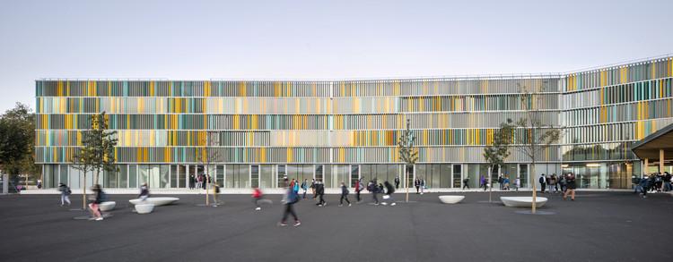 Una nueva escuela en un pueblo francés / CoCo architecture + Jean de Giacinto Architecture Composite, © Edouard Decam
