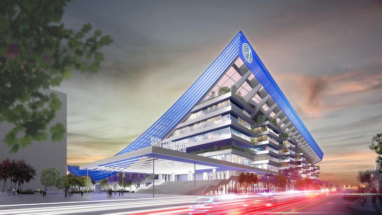 IDOM presenta el nuevo Estadio de San Lorenzo en Argentina, Cortesía de IDOM