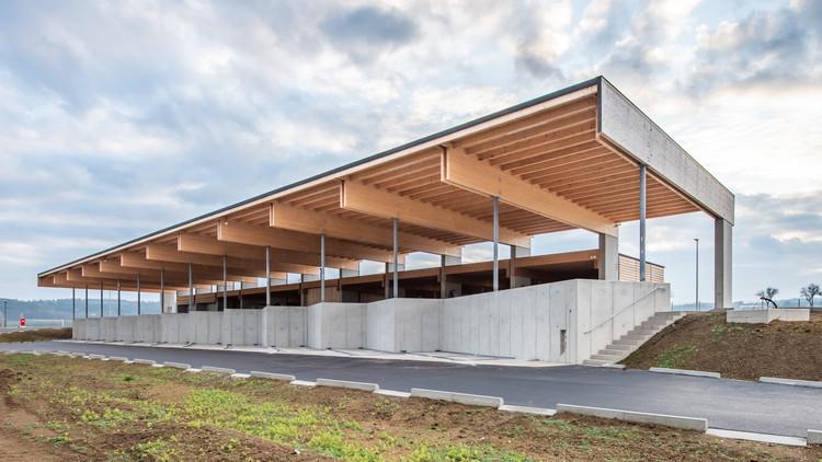 Centro de Coleta de Materiais Recicláveis / RUHM Architekten, © Andreas Kraus