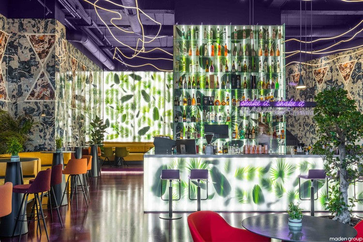 Trianglo Lounge Bar / Maden Group, © Leonit Ibrahimi