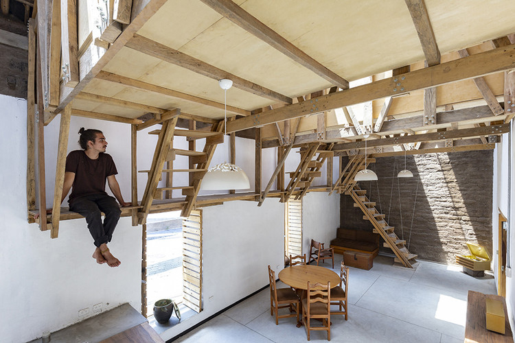 House of the Flying Beds / AL BORDE. Image © JAG Studio