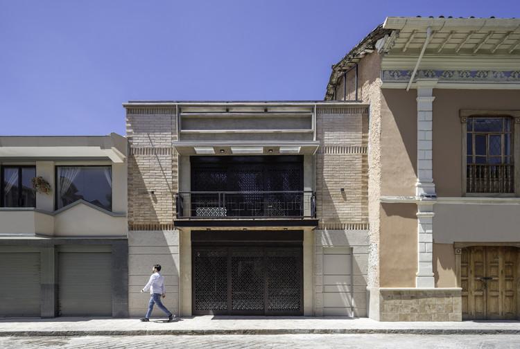Casa de los pórticos / Adrián Avilés Arquitectos, © Nicolás Provoste Fotografía