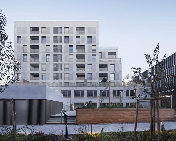 Danube Mixed-use Building / COSA Colboc Sachet architectures, © Camille Gharbi