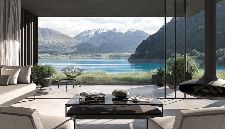 New Zealand Luxury Lodge Features Panoramic Views of Lake Wakatipu