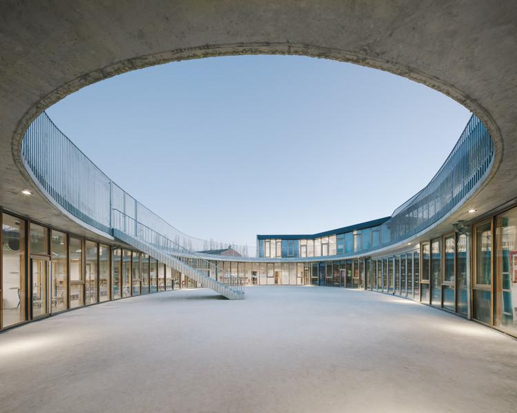 Escola Jean Rostand / SAM architecture, © Charly Broyez