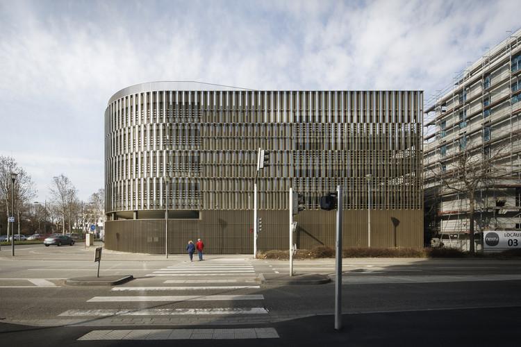 Danube Vert Car Park / COSA Colboc Sachet architectures