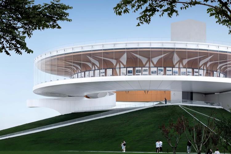 Zhengdong Longhu Public Art Center / STUDIO A+