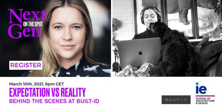 IE NextGen Forum Launch - Masterclass: Expectations vs Reality by Savannah de Savary, Courtesy of IE School of Architecture and Design
