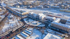 Open call: international architectural competition for reconstruction of Railway Station, Central Station Square and Public transport terminal in Vilnius, Lithuania