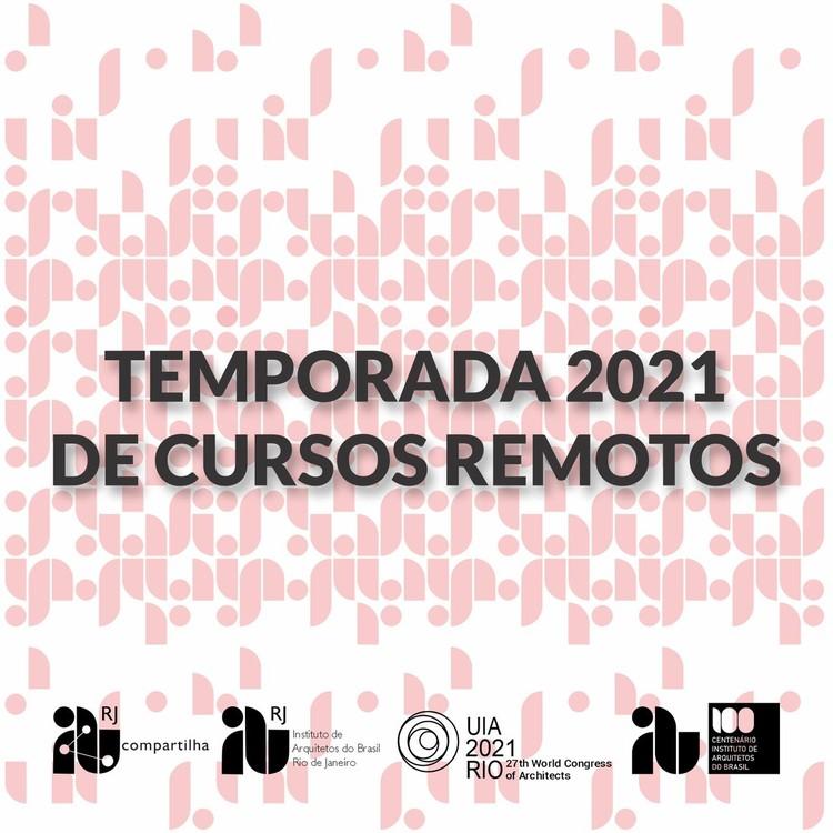 Temporada 2021 de cursos remotos do IAB-RJ Compartilha, Cartaz divulgação, arte: Alexsander
