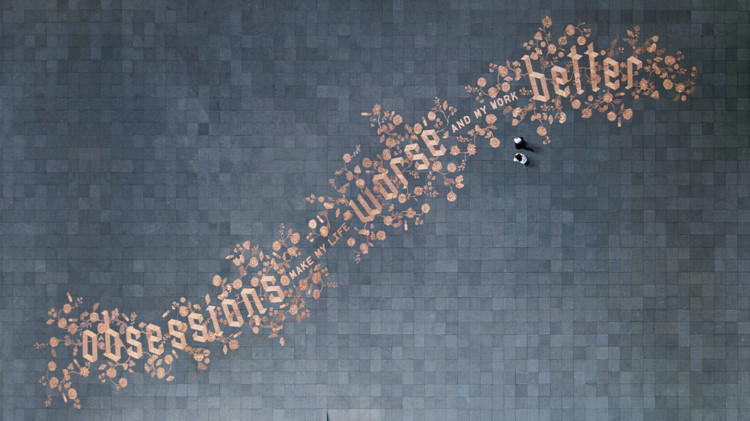 Stefan Sagmeister - Obsession. Image Courtesy of reSITE