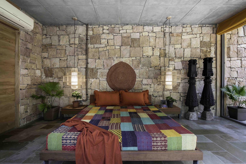 Ngôi nhà nhỏ nghỉ dưỡng cuối tuần nằm giữ khung cảnh thiên nhiên thơ mộng