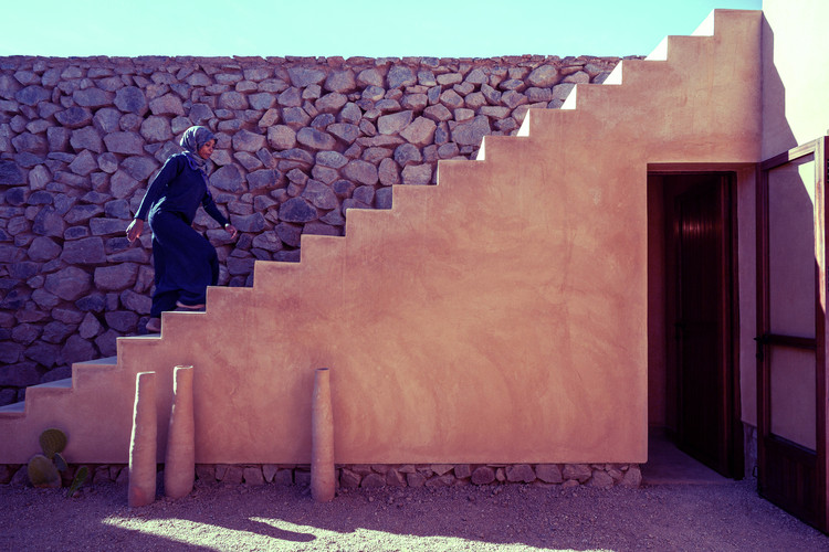 10 Inspiring Interviews of Women In Architecture, The Women's House of Ouled Merzoug / Building Beyond Borders Hasselt University. Image © ArchDaily