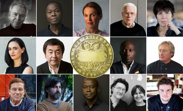 ArchDaily's Readers Select Who Should Win the 2021 Pritzker Prize, Some of the potential winners of Pritzker Prize 2021, according to our readers. Image