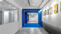 Blue Cube Office - Gallery / Darkefaza Design Studio