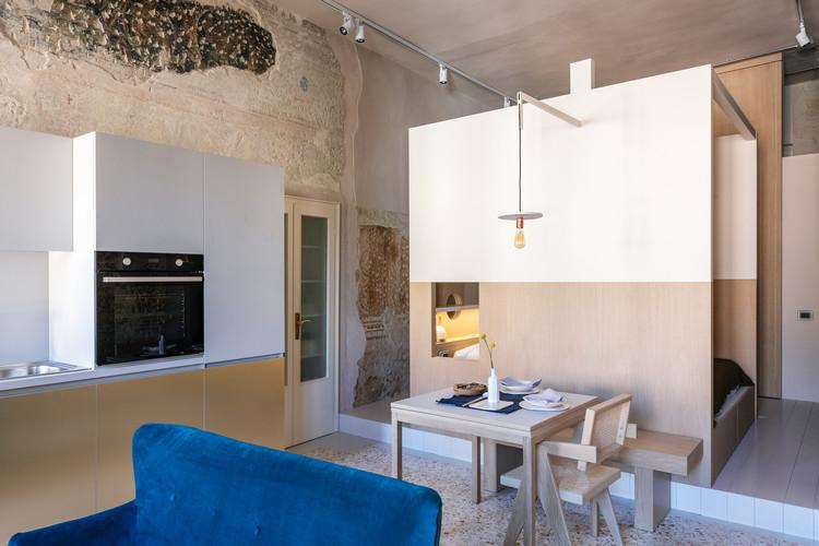 Apartamento Monolocale Effe / Archiplanstudio, © Giuseppe Gradella with  Constanza Zukierman