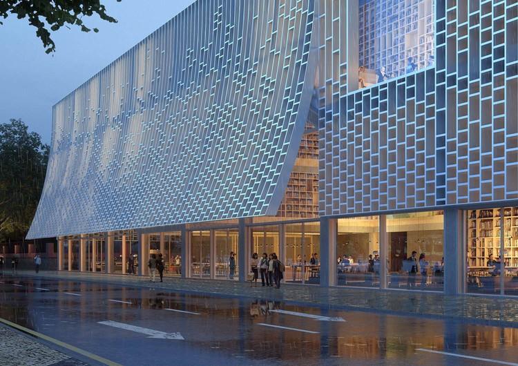Mecanoo diseñará la nueva biblioteca central de Macao en un sitio del Patrimonio Mundial de la UNESCO, Courtesy of Mecanoo
