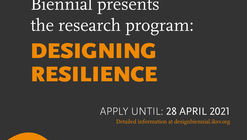 """Call for Submissions from the Istanbul Design Biennial: """"Designing Resilience"""""""