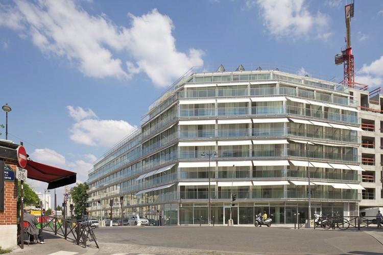Habitação Estudantil e Social Ourcq Jaures / Lacaton & Vassal, © Philippe Ruault