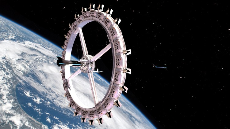 World's First Space Hotel to Open in 2027, Courtesy of Orbital Assembly Corporation