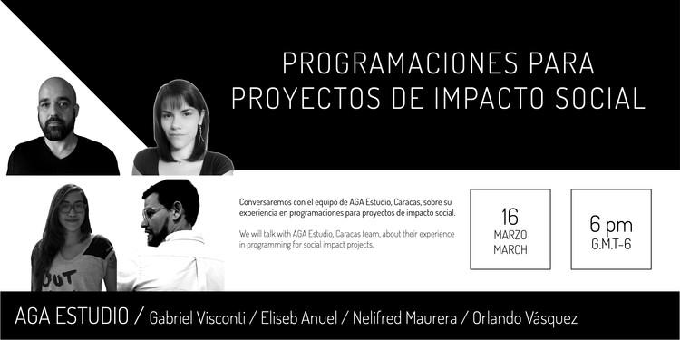 Conversatorio: Programaciones para Proyectos de Impacto Social, Justicia Espacial