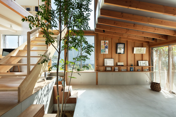 House with a Margin / yukawa design lab, © Yohei Sasakura