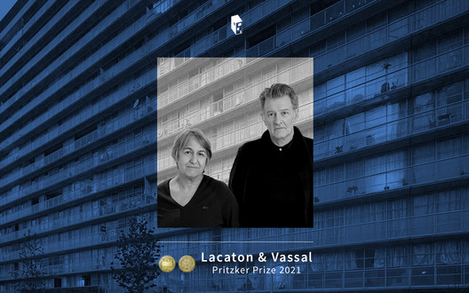 Anne Lacaton and Jean-Philippe Vassal, 2021 Pritzker Prize Laureates. Image © ArchDaily