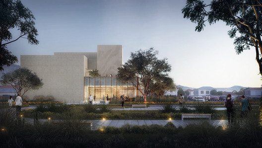 California Institute of Technology Quantum Laboratory. Image Courtesy of Brooks + Scarpa