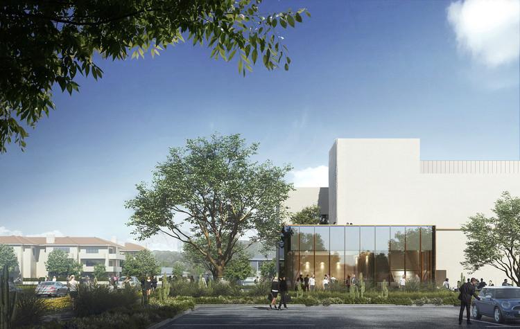 Laboratorium Kuantum Institut Teknologi California. Gambar milik Brooks + Scarpa