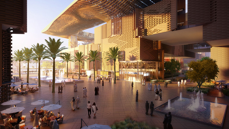 Brooks + Scarpa Design Sustainable Riyadh Complex in Saudi Arabia, Courtesy of Brooks + Scarpa