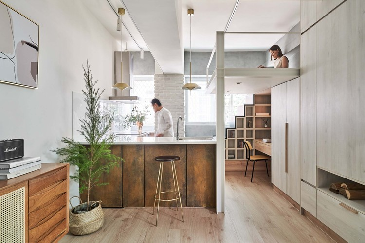 Miǎo Miǎo Apartment / NestSpace Design