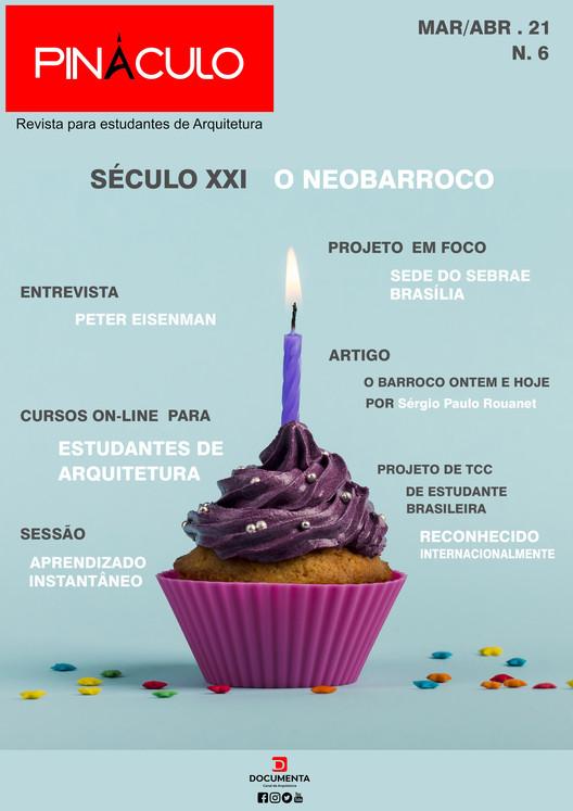 Revista Pináculo dedicada a estudantes de arquitetura