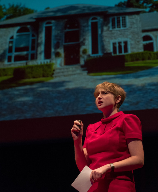 """Kate Wagner: """"The Age of the Architecture Critic as Galvanizing Force Is Over. It's Done"""", Four months after launching McMansion Hell, Kate Wagner delivered a TED talk in United States. Image © Kate Wagner"""