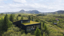 Casa de vacaciones en Þingvallavatn / Krads