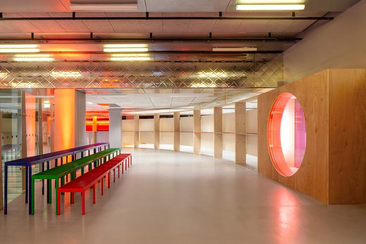 R+1 Gaité Lyrique Meeting Space / Jean Benoît Vétillard Architecture, © Giaime Meloni