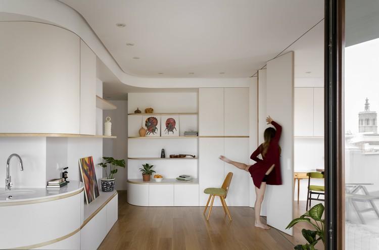 SMM Penthouse / Anna Solaz - Estudi d'Arquitectura + CRUX arquitectos, © Milena Villalba