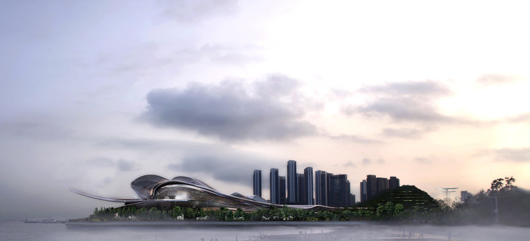 Jean Nouvel Vence Concurso Para o Projeto da Nova Ópera House de Shenzhen, Cortesia de International Architectural Design Competition for Shenzhen Opera House
