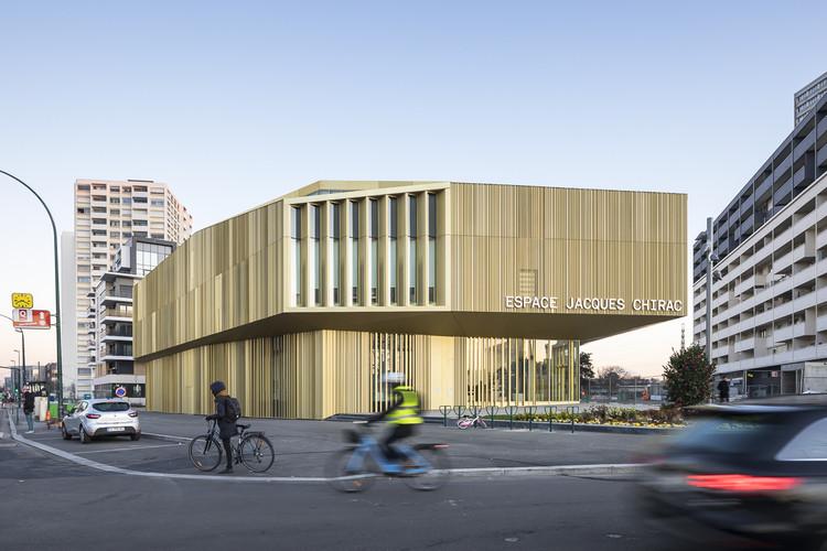Media Library in Colombes / Brenac & Gonzalez & Associés, © Sergio Grazia