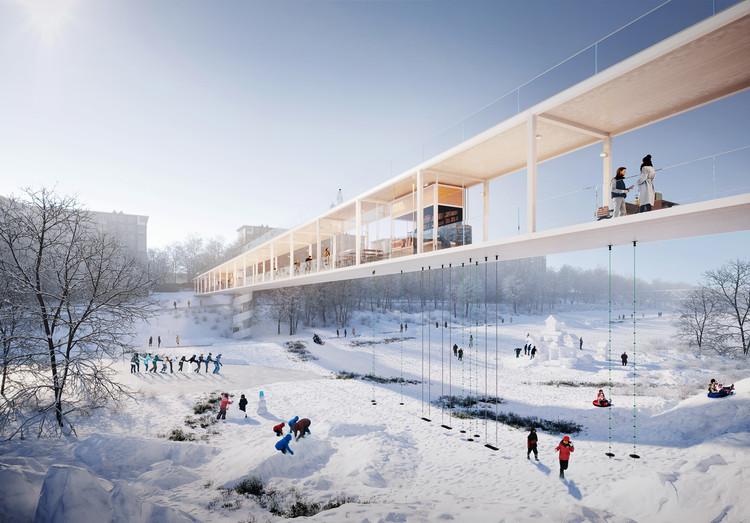 Strelka KB anuncia a ganadores de concurso para diseñar la ciudad del futuro en Rusia, Karres en Brands . Imagen cortesía de Strelka KB