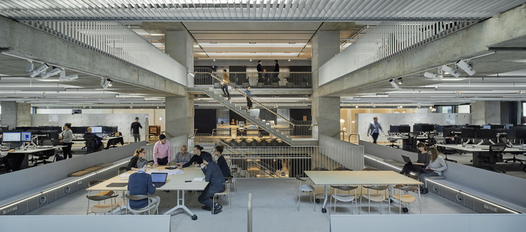 Why Is My Office So Cold? Exploring the Overlooked Aspects that Contribute to Workplace Wellbeing, Arup Australia Offices by HASSELL. Image © Earl Carter